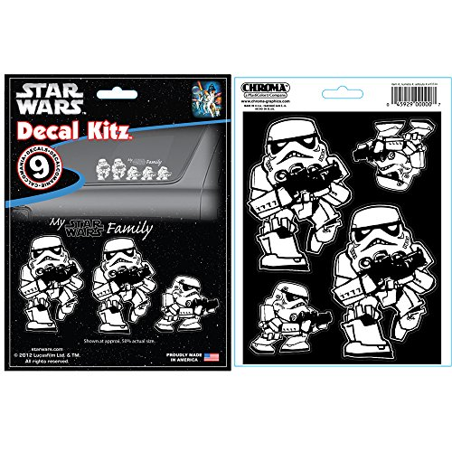 CHROMA 5399 Star Wars Stormtrooper Family Decal Kit
