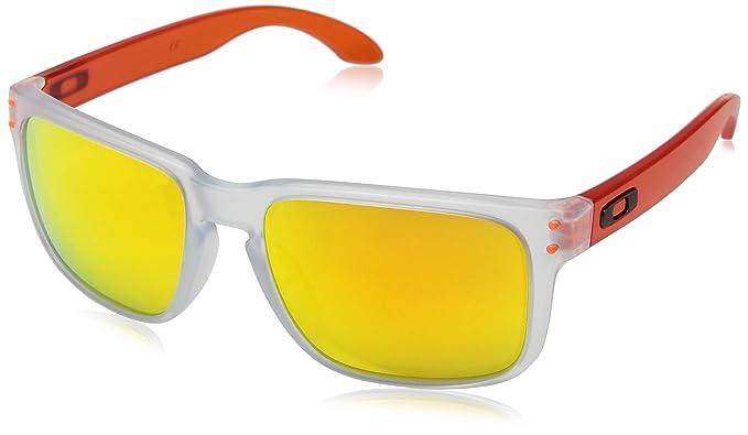 9647b757e0 Oakley Holbrook Gafas de sol, Transparente, 57 para Hombre: Amazon.es: Ropa  y accesorios