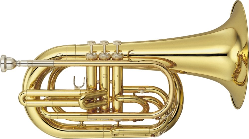 Yamaha YBH-301M Series Marching Bb Baritone Lacquer