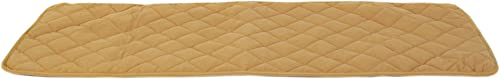 CPC Diamond Quilted Bed Scarf for Dogs and Cats, 30 x 97-Inch, Caramel