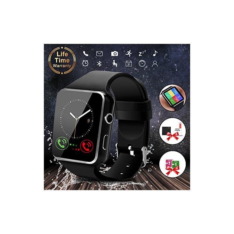 Smart Watch,Bluetooth Smartwatch Touch S
