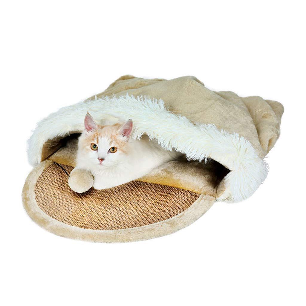LYYL006 Pet Nest  Warm Warm Pets in Winter  Cat Warm and Comfortable Dog Mats Fully Washable Four Seasons Universal Pet Mat Mattress Supplies