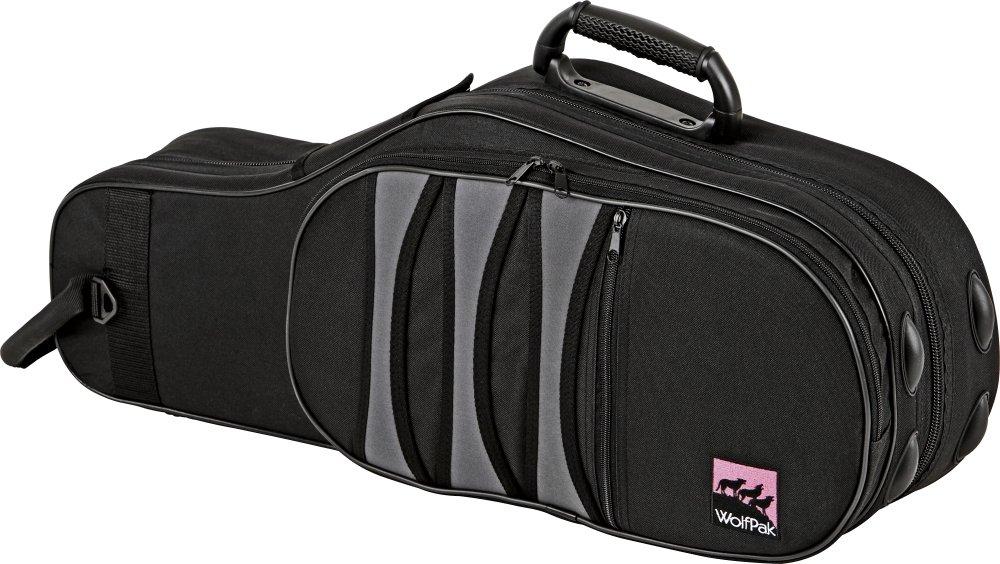 WolfPak Polyfoam Alto Saxophone Case Black RPFAS1
