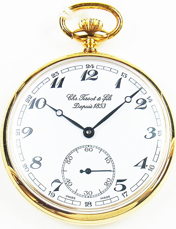 [ティソ]TISSOT 懐中時計 T82.4.402.12 【正規輸入品】 B008LT3EJG