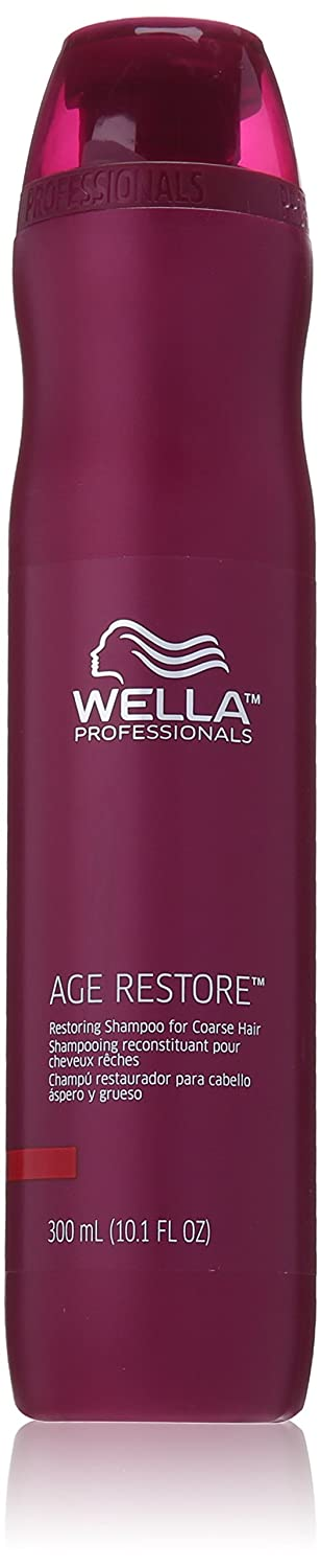Wella Age Restore Restoring Shampoo for Coarse Hair for Unisex, 10.1 Ounce