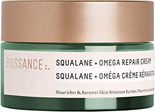 product image for Biossance Squalane + Omega Repair Cream - Ultra-Rich Moisturizing Cream for Smooth, Plump Skin with No Greasy Feel - No Parabens - Vegan + Fragrance-Free (50ml)