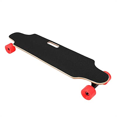 Aceshin Electric Skateboard with Remote Control 20KM/H Top Speed 250W Longboard (Red) : Sports & Outdoors