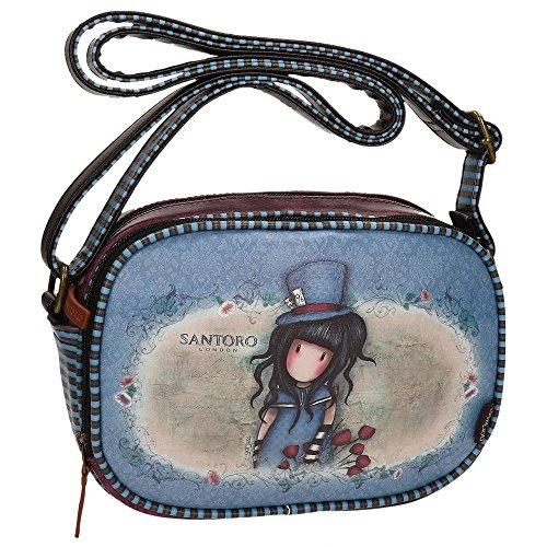 Santoro Gorjuss The Hatter Tasche Handtasche Henkeltasche Umhängetaschen