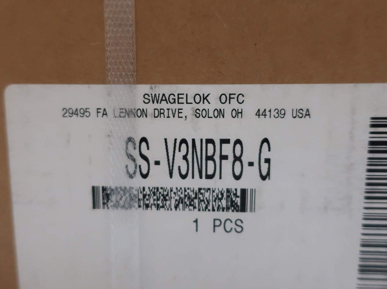 SWAGELOK SS-V3NBF8-G 3-Valve Stainless 1//2IN NPT Valve Manifold