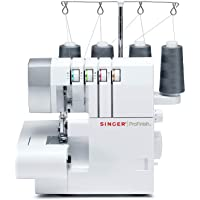 SINGER Serger 2-3-4 Thread Capability Overlock with Blind, Rolled Hems and Flatlocking, Take Your Creations to The Next Level, White