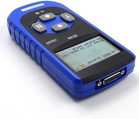 DOFCOC Scanner OBD2 Mil Strumenti diagnostici automobilistici OBD II per la Maggior Parte dei sistemi Codici di Errore di Lettura e cancellazione ABS, airbag