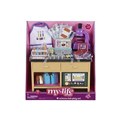 myLife Brand Products Doll Sets (Science Lab Play Set): Toys & Games