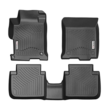 Amazon.com: YITAMOTOR Floor Mats for Honda Accord, Custom fit Floor Liners for 2013-2017 Honda Accord Sedans, 1st & 2nd Row All Weather Protection: ...