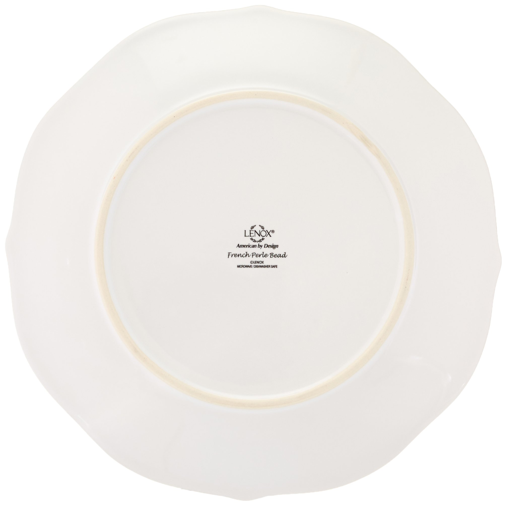 Lenox 4-Piece French Perle Bead Dinner Set, White by Lenox (Image #7)