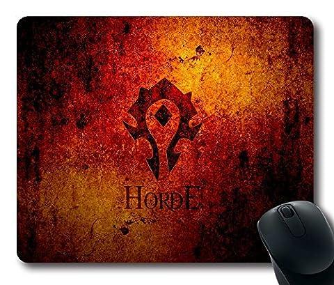 Customization 0025925 horde symbol wow world of warcraft mouse padmouse mat (World Of Warcraft Mouse Pad)