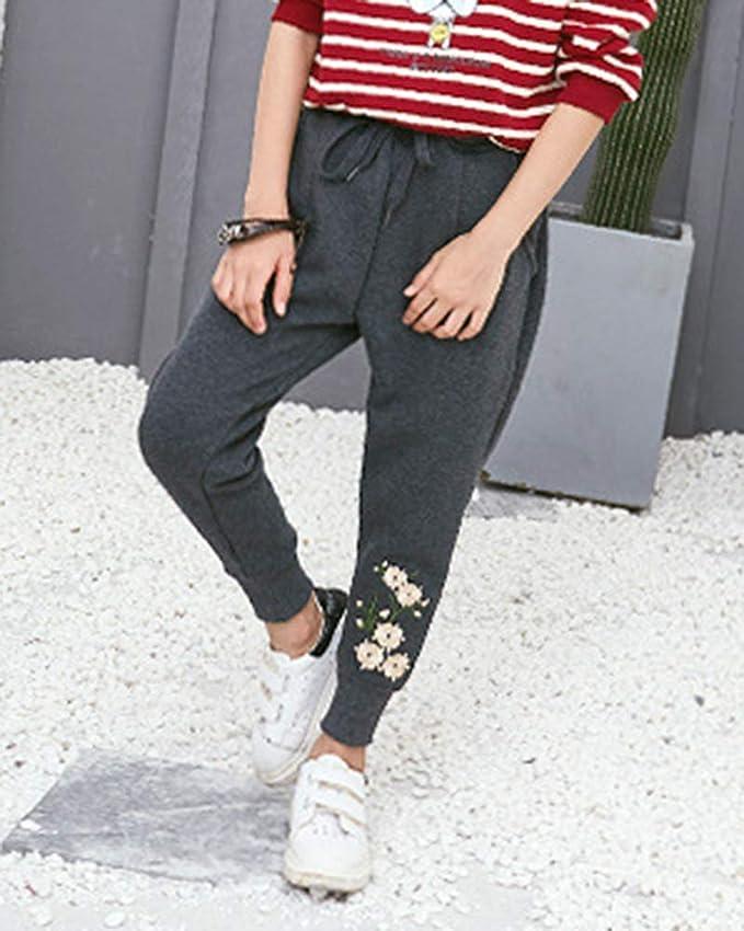 Liangzhu Niñas Pantalón Deportivo Jogger Casuales Pantalones Chándal De Cintura  Elástica  Amazon.es  Ropa y accesorios a7146fd8aa5b