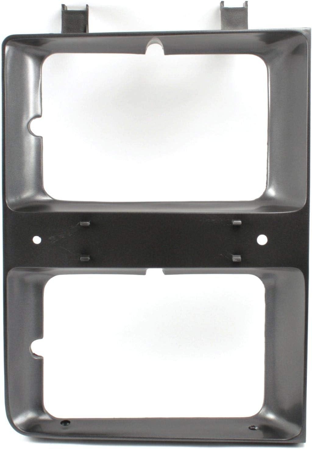 Right New Headlight Door//Bezel Chevy Blazer Suburban Passenger Side RH Hand