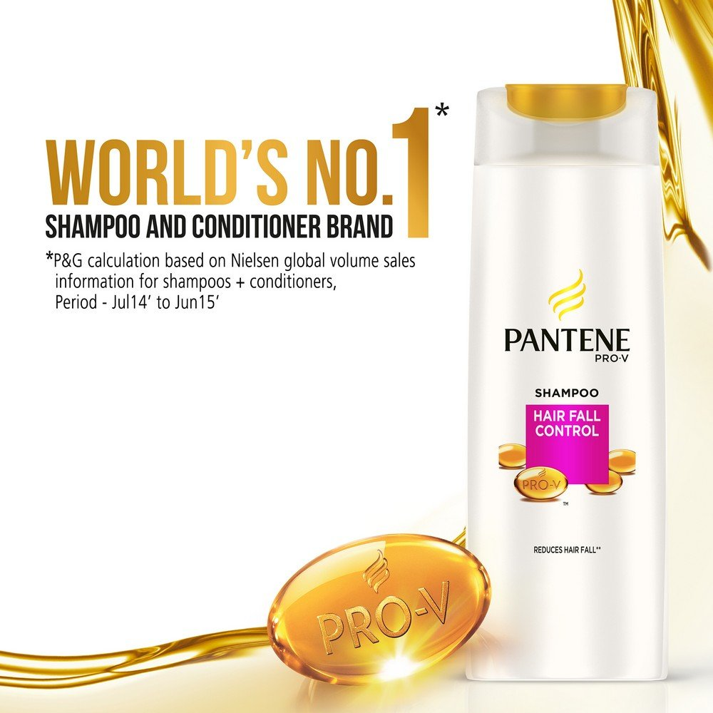 Buy Pantene Hairfall Control Shampoo 360ml Online At Low Prices In Clear Shampo Csoft Care 340ml India