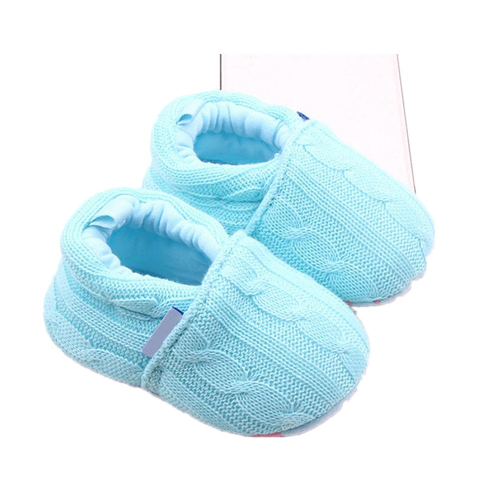 LNGRY Infant Baby Girl Boy Toddler Shoes Sneaker Anti-slip Soft Sole Home Shoes