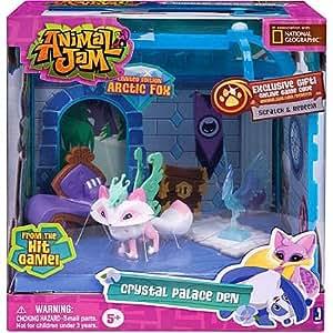 Amazon.com: Animal Jam Crystal Palace Den Exclusive ...