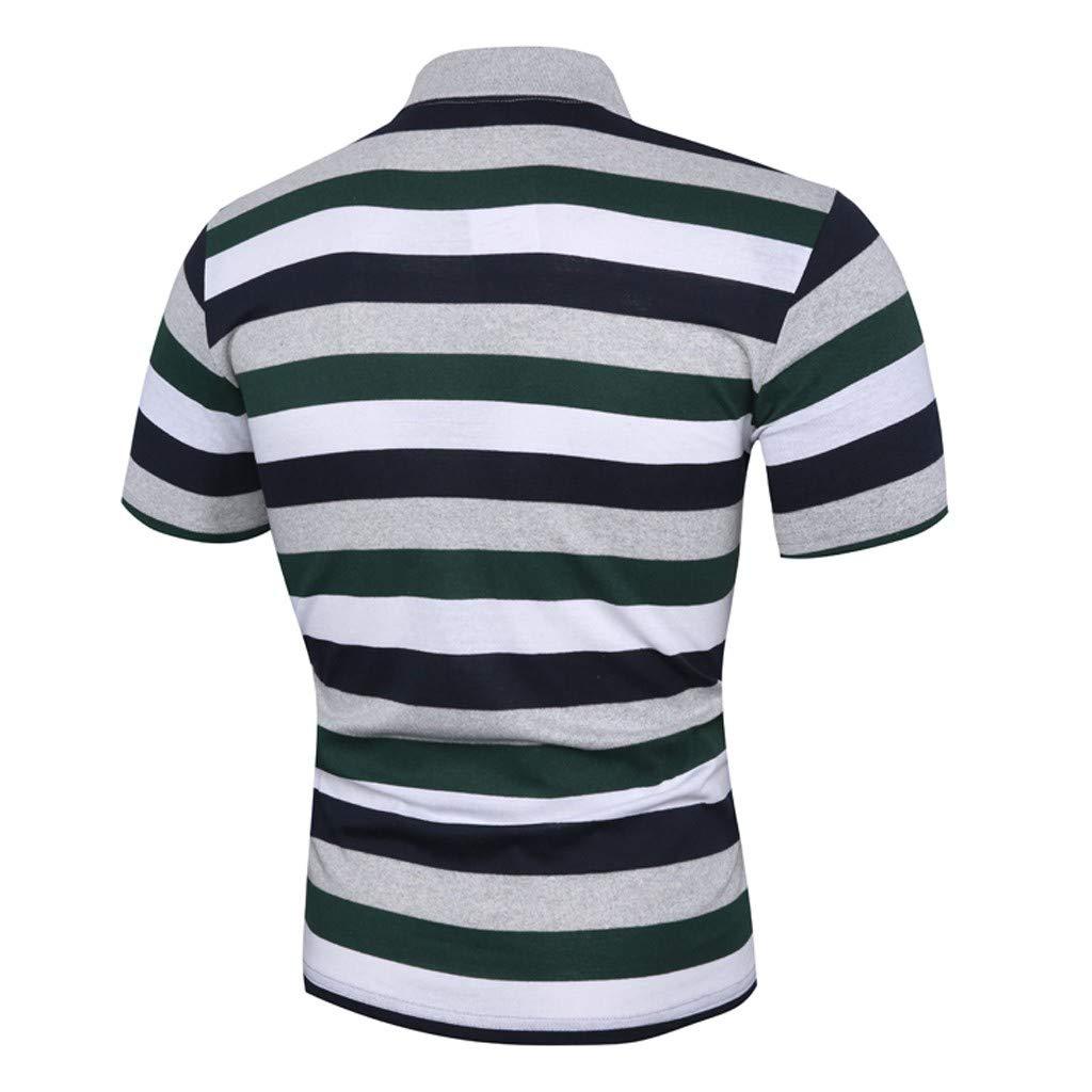 Graysky Mens Summer Solid Color T-Shirts Short Sleeve Loose Fit Casual Baech Tees Shirt Tops