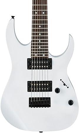 Ibanez grg7221 (7 cuerdas Guitarra eléctrica, color blanco