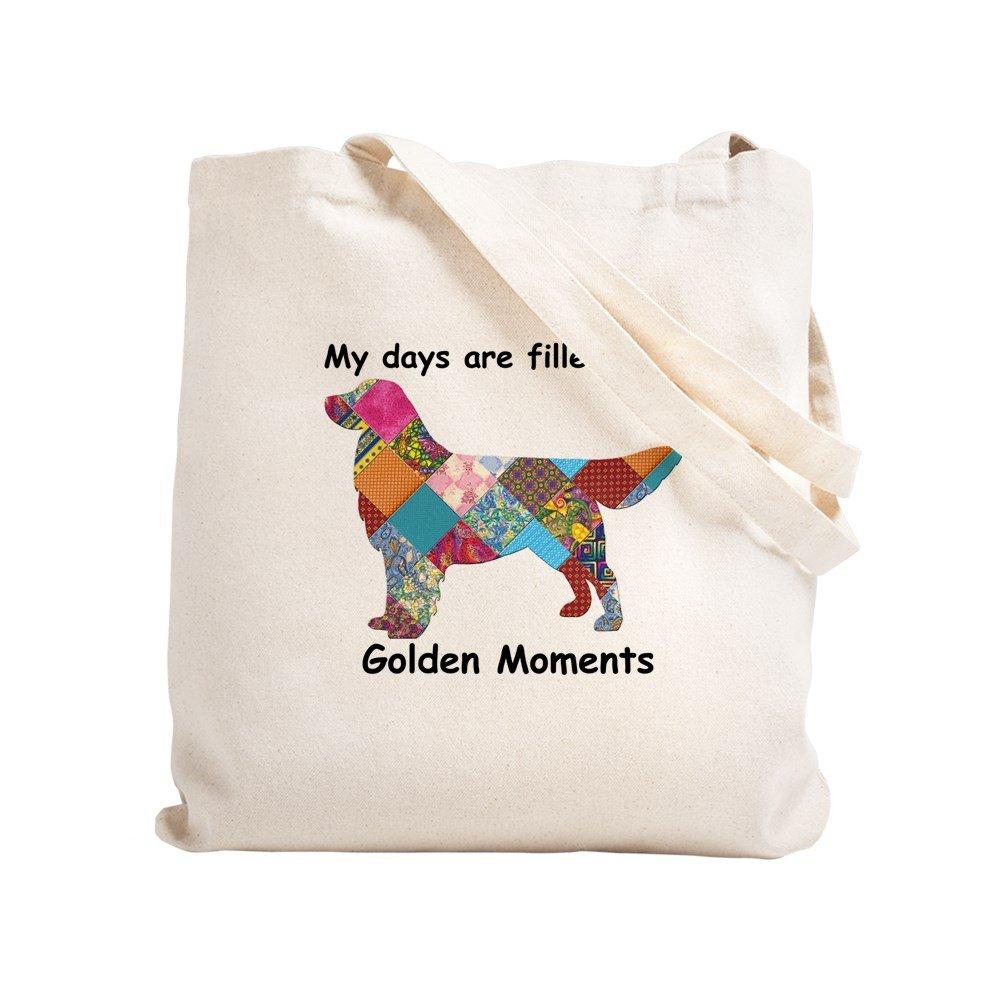 5651f11f098 CafePress - Golden - Natural Canvas Tote Bag, Cloth Shopping Bag