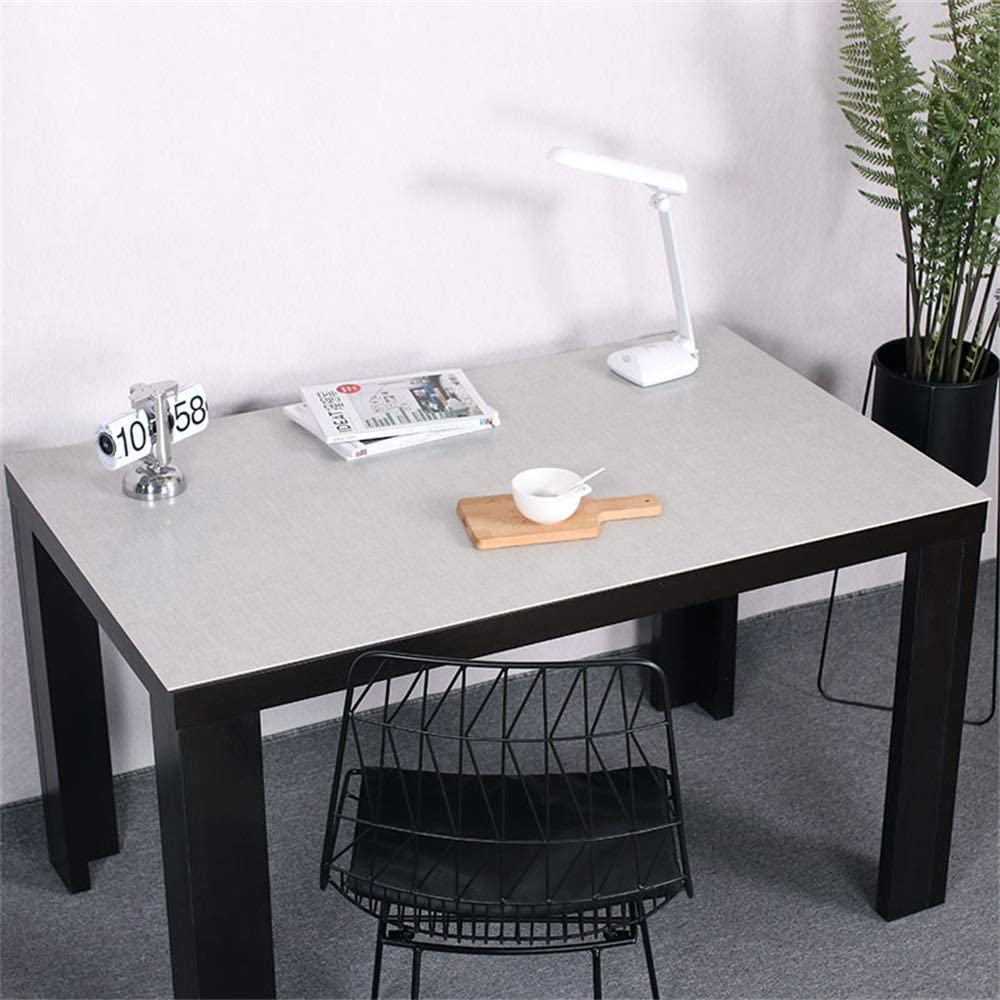 YUMUO Solid Color Desk Mat,Microfiber PVC Mouse Mat Desk Protector Waterproof Mat Writing Pad Desk Mat for Office and Home e 2424in