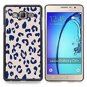 Stuss Case / Funda Carcasa protectora - Patrón Leopard Pink Beige Piel Imprimir - Samsung Galaxy On7 O7