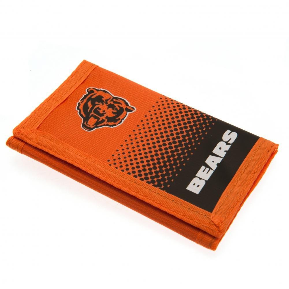 Chicago Bears Geldbörse Nylon Wallet FD Offizielles NFL Merchandising