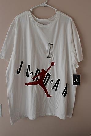 72bbcb7c29656d Image Unavailable. Image not available for. Color  Jordan Jumpman Air Matte Men s  T-Shirt White 3XL Jordan Flight ...