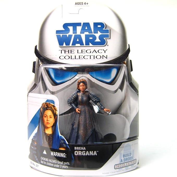 Star Wars Legado Colección BREHA Organa Figura #27 Nuevo