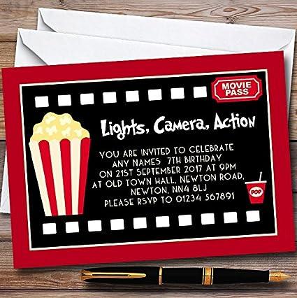 amazon com 10 x movie film night cinema personalized childrens