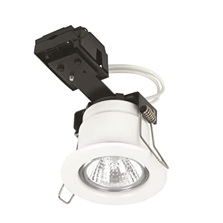Deta L1680CH3 Fixed Fire Rated Downlight IP20 Non Dimmable 2800K Polished Chrome