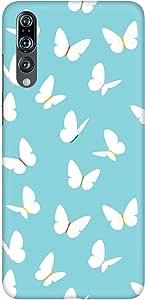 Stylizedd Huawei P20 Pro Slim Snap Basic Case Cover Matte Finish - Fluttering Butterfly