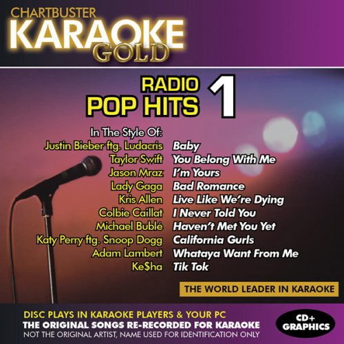 Chartbuster Karaoke Radio - Karaoke Gold: Radio Pop Hits 1