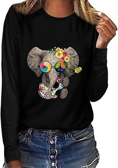 Teresamoon Womens Casual Leopard Print T-Shirt Short Sleeve Round Neck T Shirts Blouses Tops