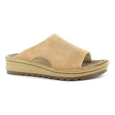7e8b9a96201b Naot Footwear Women s Ardisia Latte Brown Leather Sandal 41 (US Women s 10)  M