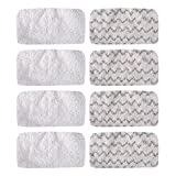 #2: KEEPOW 8 Pcs Microfiber Steam Mop Pads for Bissell Symphony 1132A, 1543A, 1252 Hard Floor Vacuum Steam Mop