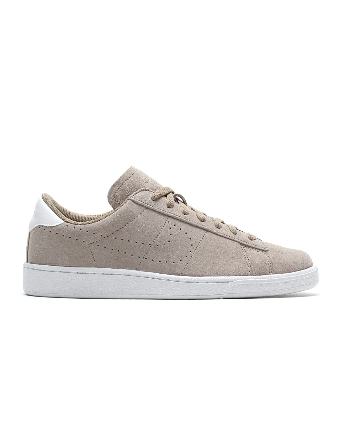 pretty nice 92540 b9092 Nike 829351-201 Men Tennis Classic CS Suede Khaki White  Buy Online at Low  Prices in India - Amazon.in