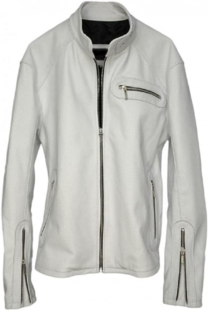 DashX MOTOGP Leather Jacket White