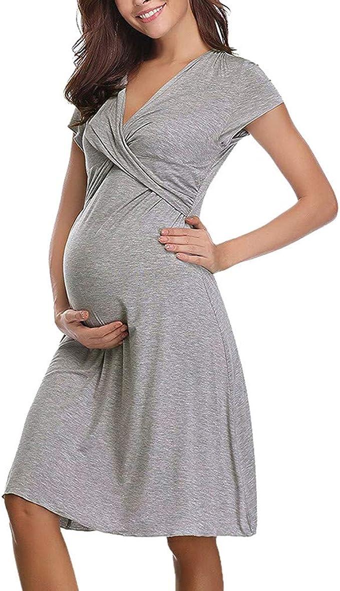 Abiti Eleganti Estivi.Frauit Abito Allattamento Cerimonia Abiti Eleganti Maternita