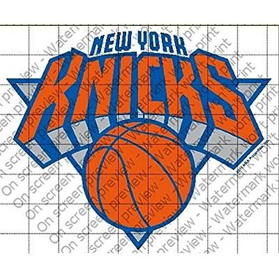 New York Knicks Licensed Edible Cake Topper #10286: Kitchen & Dining