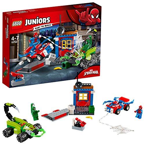 [해외] 레고(LEGO) 쥬니어 스파이더맨 VS 스콜피온의 대결 10754