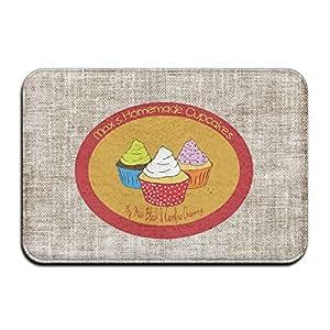 Modas 2Broke Girls Max Cupcake personalizada Indoor/Outdoor Doormats