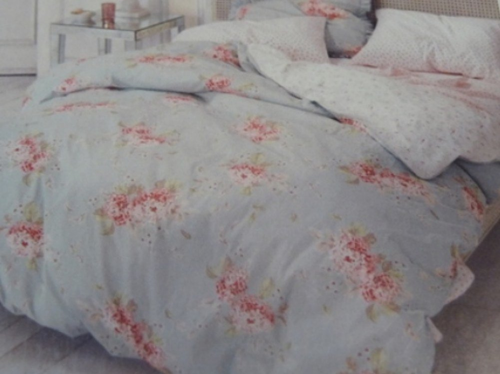 Amazon Simply Shabby Chic Hydrangea Duvet Cover Set Blue Floral Twin Size Bedding Home Kitchen
