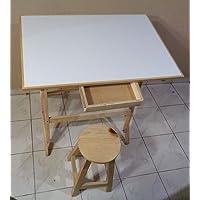 Restirador 80X120 cm, Para Dibujo, arquitecto, Profesional, con banco