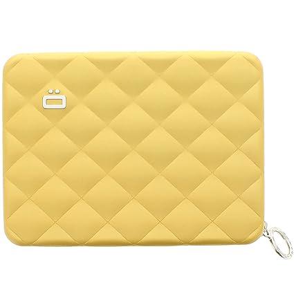 Cartera de aluminio tamaño acolchado Ogon designs passport dorado - amarillo - designs Ogon