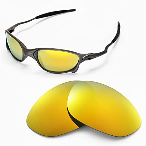 5e4ffddb659 Walleva Replacement Lenses for Oakley X Metal XX Sunglasses - Multiple  Options Available (24K Gold