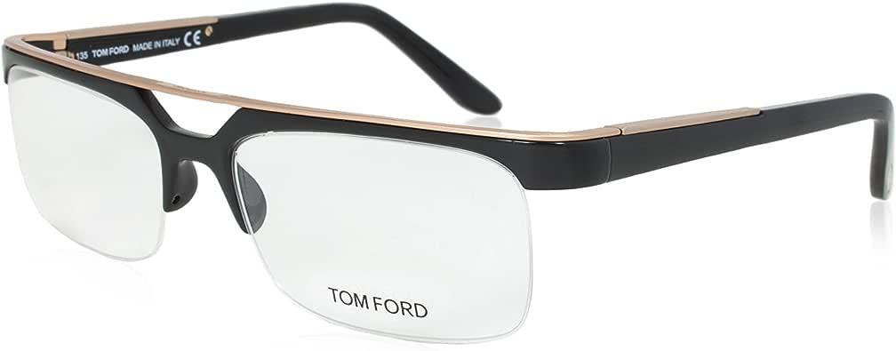 Tom Ford Women's FT5069 Eyeglasses, Black/Gold